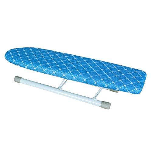 XiuHUa Strijkplank, mini klein mouwbord klein strijkplank hot sleeve board kleine strijktafel Strijkkraag super lange opvouwbare kleine mouw board, blauw Strijkplank