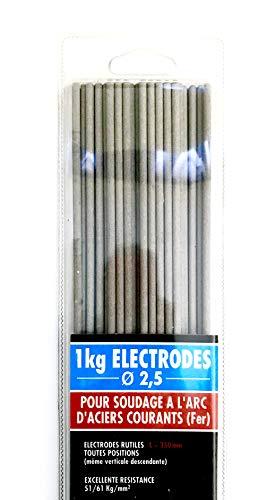 CEVAL France - Electrodos rutiles (1 kg, 2,5 mm de diámetro)
