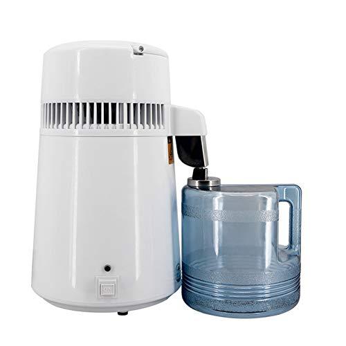 4L Pure Water Distiller Machine750w Weinherstellung Set Brewing Kit Edelstahl Inner Wasserdestillation Wasserfilter Filter Mit Sammelflasche Für Büros Häuser,220v
