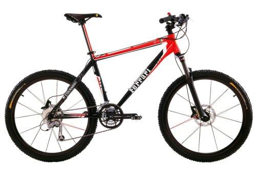 FERRARI CX50-S - Bicicleta de montaña Enduro, Color Rojo