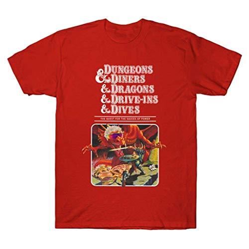 Vintage T-Shirts, Dúngeóns & Dínérs & Drágóns & Drívé ins & Dívés T Shirt Black, T-Shirts Black,Tank Top, Hoodie, Long Sleeve, Sweatshirt, Crew Neck Short Sleeve Gifts