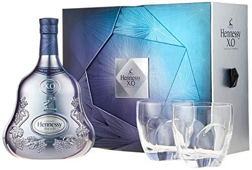 Hennessy XO On Ice Experience Limited Edition mit Geschenkverpackung mit 2 Gläsern (1 x 0.7 l)