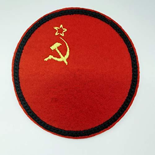 USSR FLAG Sovjet Unie Patch - Geborduurde Iron On Patch - 3