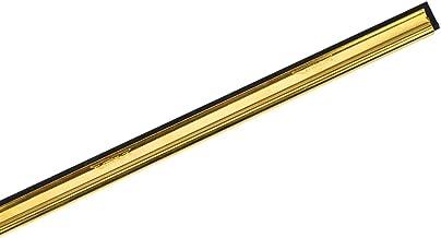 """Ettore 8"""" Brass Channel W/Rubber (1123)"""