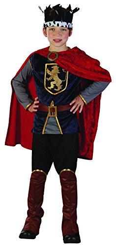 Rire Et Confetti - Ficmou027 - Déguisement pour Enfant - Costume Petit Roi - Garçon - Taille L