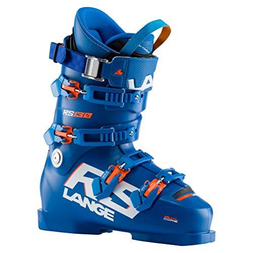 Lange RS 130 Wide Skischuhe, Erwachsene, Unisex, Power Blue, 29.5 Mondopoint (cm)