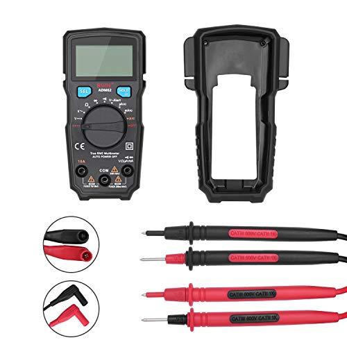 Dhmm123 Digital ADM66 Handmultimeter, 6000 zählt True RMS Meter AC DC AAA Batterie LCD Display automatische Shutdown Meter Spezifisch