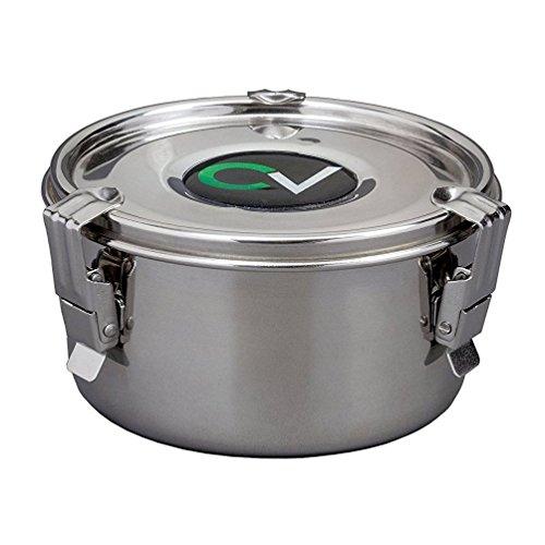 Cvault Hyrdofarm Cv00040 - Contenedor de almacenamiento para humidor (acero, tamaño grande)