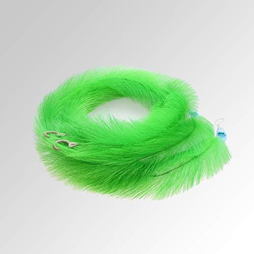 Mountain Tree Premium Laichborstel/opberghulp 150 cm voor koiteelt in vijver of aquarium, 2 stuks in groen