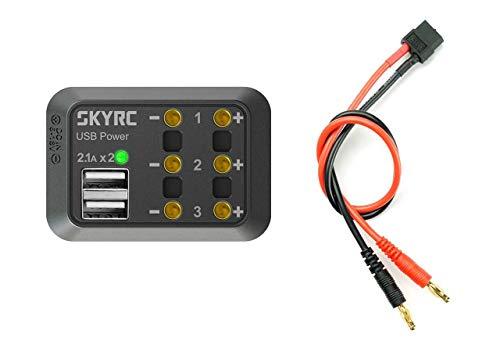 Accumuler RC Chargeur Batterie Kit de câbles À faire soi-même Banane 4.0 mm sécurité Plug System UK