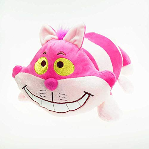 L&R Pink Cute Cat Plush Toy, Cheshire Cat Toy,Birthday Gift for Children 40cm/Rosa.