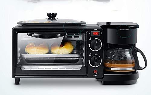 SISHUINIANHUA Multi Functional Vollautomatische Haushalt Kaffeemaschine Elektro Brot Frühstück Maschine 3 in 1 Maschine Bake Oven Spiegelei