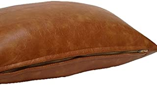 Leather Lifestyle Lambskin Leather Pillow Cushion Cover Genuine PC08