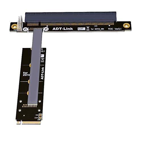 35CM M.2 NVMe To PCIe 16x Riser X11050ti 1060ti 1080ti RX580 Graphics Card Extender M2 x16 PCI-e For NVIDIA AMD A N Card BTC Miner