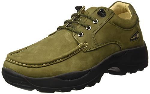 Woodland Men's GC 2825118 Olive Green Sneaker-8 UK (42 EU) (9 US) (Leather)