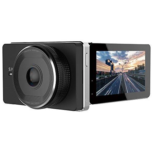 SJCAM Sjdash WiFi Dashcam Smart Car Dvr Novatek Nt96658 1080p Dash Cam 3.0 Inch Dvr-2.4ghz WiFi Wireless Connection / 140 Degree Wide Angle/G-Sensor/Motion Detection/Wdr Black by Mr. Nut & Boltz.