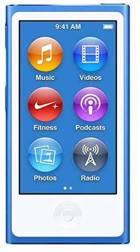 Apple Ipod Nano 7. Generation Blau 16GB Mp3 Player Bluetooth