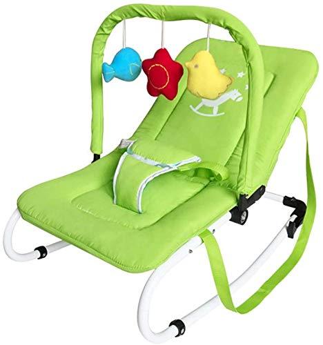 Balance Bouncer Swings Stoel Wippen Baby-leunstoel Baby-schommelstoel pasgeborenen kinderen leunstoel elektrische cradle Seat, groen elise groen