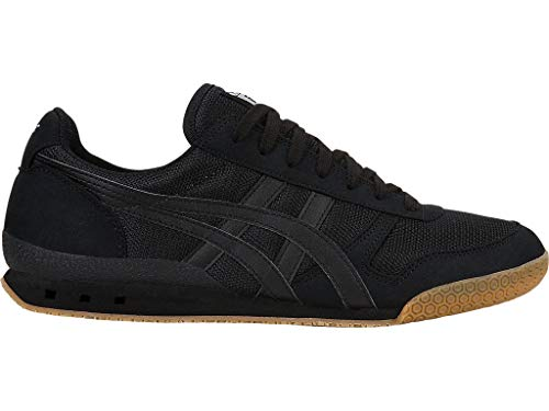 Onitsuka Tiger Unisex Ultimate 81 Shoes, 8.5W, Black/Black