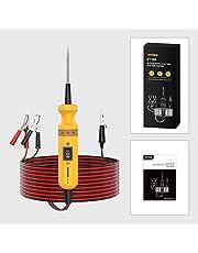 AUTOOL BT-160電気回路システム診断ツール12V / 24V自動車用回路テスターパワープローブ(車両/ボート/オートバイ/ヘビーデューティ/トラック電圧統合型パワースキャナー)