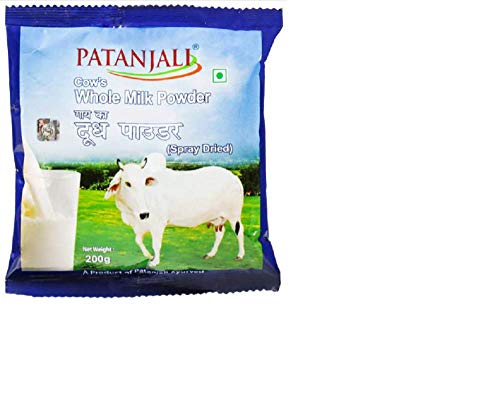 Patanjali Cow Whole Milk Powder 200gm - Pack of 2
