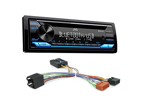 Autoradio KD-T716BT geeignet für Citroen C2 | C3 | C5 | C8 inkl. Lenkrad Fernbedienung Adapter
