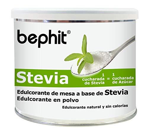 Bephit Stevia Edulcorante en Polvo Suplemento - 250 gr