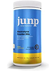 JUNP Hydration Electrolyte Powder, Electrolytes Drink Mix Supplement, Zero Calories Sugar and Carbs, Kosher, Berry Lemonade Flavor, 90 Servings