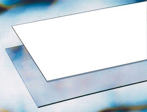 VETRO SINTETICO OPACO IN LASTRA da 2 mm 500X1250 Termoformabile