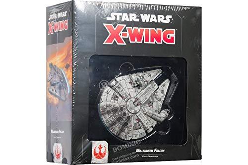 Asmodee- Star Wars X-Wing Millennium Falcon espansione Gioco da Tavolo con splendide Miniature, Colore, 9962