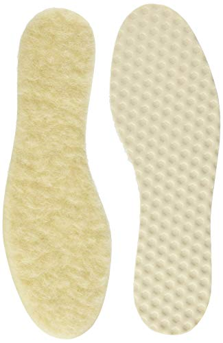Bama Wool Wollsohle Warme Sohle, Elfenbein, 40 EU
