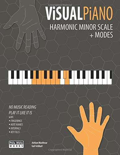 VISUAL PIANO: Harmonic Minor Scale + Modes