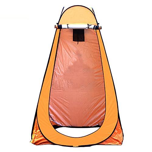 Zhenhong Barraca de privacidade pop-up, trocador de banheiro, barraca pop-up Pod trocador de quarto, barraca de privacidade, fácil configuração, leve e resistente, laranja