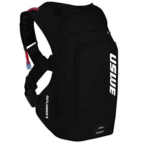 USWE Unisex– Erwachsene Outlander 9 Packtasche, schwarz, 1size