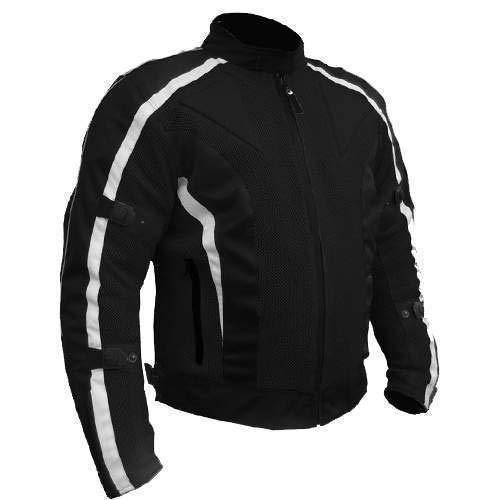Bikers Gear Australia Limited Chicane Race mesh air flow giacca impermeabile e Armoured ce-1621–1, bianco, taglia 3X L