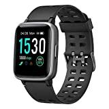 YAMAY Smart Watch for Android and iOS Phone IP68 Waterproof, Fitness Tracker Watch...