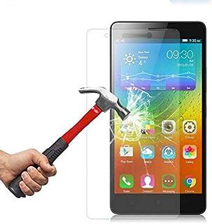 حامي شاشة بقوة حماية زجاجية مقاوم للكسر لجهاز لينوفو كي5 نوت / اي7020 - شفاف - K5 Note A7020