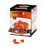Liberty DuraPlug Uncorded Disposable Reusable Earplug with 25 dB NRR (Case of 100 Pairs)