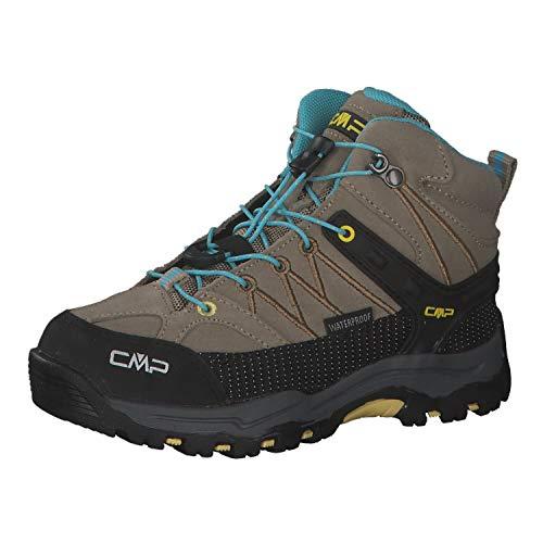 CMP Kinder Trekking Schuhe Rigel MID 3Q12944 Corda-Lemon 34