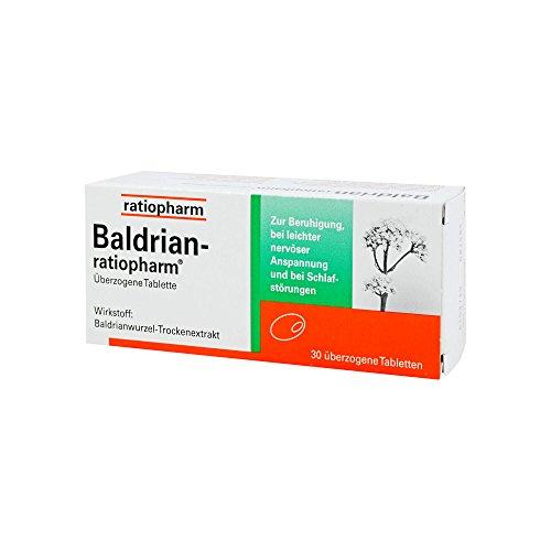BALDRIAN-RATIOPHARM überzogene Tabletten 30 St