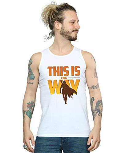 Star Wars Hombre The Mandalorian This Is The Way Camiseta Sin Mangas