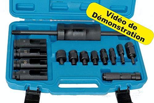 BGS Technic - Kit extractor de inyector universal HDI CDI TDI DCI