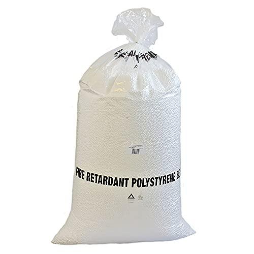 IMBALLAGGI 2000 - Sacco Palline Polistirolo per Riempimento Pouf - 0,25 Metri Cubi - Sfere per Riempimento, Imballaggio e Isolamento - 1 Sacco Rinforzato