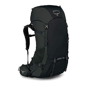 Osprey Rook 50 Men's Ventilated Backpacking Pack - Black (O/S)