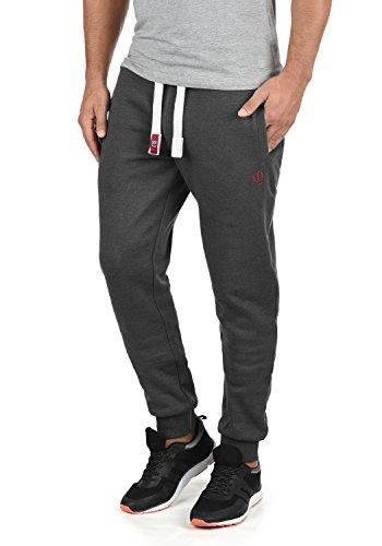 !Solid BennPant Herren Sweatpants Jogginghose Sporthose Mit Fleece-Innenseite Und Kordel Regular Fit, Größe:XL, Farbe:Med Grey (8254)