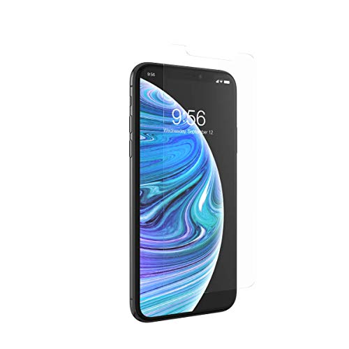 ZAGG InvisibleShield Glass Elite Screen Protector - Made for Apple iPhone 11 Pro Max and Xs Max- Case Friendly Screen - Impact & Scratch Protection (200103914)