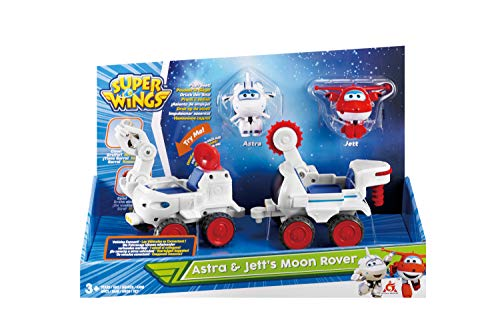 Alpha Group Co., Ltd Super Wings Astra und JETT's Moon Rover Transform-a-Bot 2