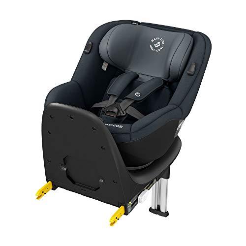 Maxi-Cosi Mica Up, 360° drehbarer i-Size Kindersitz inkl. ISOFIX Basis, Gruppe 1 Autositz (bis ca. 105 cm / 18 kg) G-Cell Seitenschutz, nutzbar ab ca. 4 Monate bis ca. 4 Jahre, Graphite (graphit/grau)