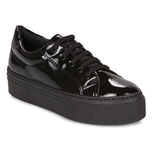 ANDRÉ SODA Sneakers dames Zwart/Lak Lage sneakers