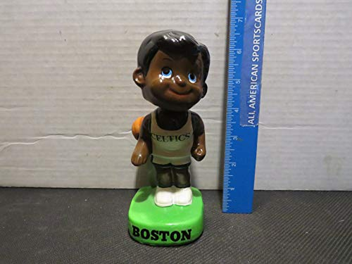1960'S BOSTON CELTICS LIL DRIBBLER BLACK FACE BOBBLEHEAD -CHIPPED NECK LOOKS NEW